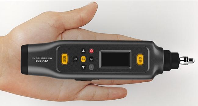迷你型测温测振点检仪zc1000